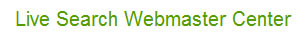 Live Search Webmaster Portal