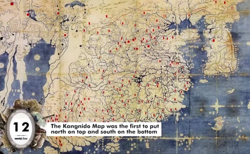 27 facts about maps you probably didn't know